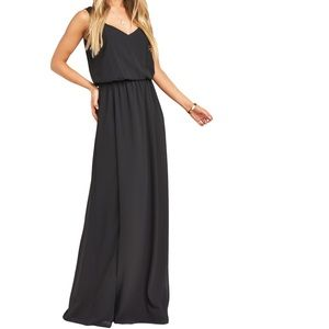 Show Me Your MuMu Kendall Soft V-Neck Gown